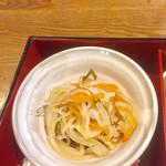 旬菜‐小豆 - 切り干し大根