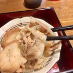旬菜‐小豆 - 仙台麩までデカイ