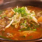 縁むすび - ユッケジャン麺840円