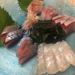 旬採和食 みのり - 料理写真:刺身盛り合わせ