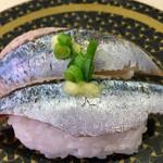 はま寿司 - 「トロいわし」はしっかり脂が乗っていました!