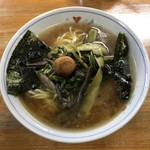 むさし - 山菜ラーメン