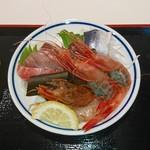 立ち喰い魚 ふじ屋 - 魚屋の魚皿