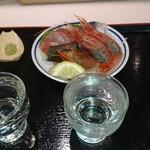 立ち喰い魚 ふじ屋 - 地酒呑み比べセット