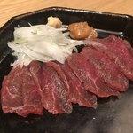 蕎麦前 山都 - 熊本の馬刺し