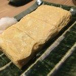 蕎麦前 山都 - 出汁巻玉子