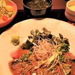 博多海鮮 にたや - 胡麻さば膳。