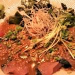 博多海鮮 にたや - 胡麻さば膳、アップ。