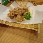 先斗町 炭楽屋とりうめ - 鶏の唐揚げ