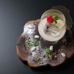 メゾン ド パイユ - ホワイトチョコレートカクテル