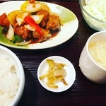 Shisengyouzabarupaopao - 玉子スープも美味いです。