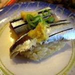 魚さばき 回転寿司 大まる - 料理写真:秋刀魚!