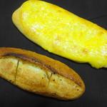 94710718 - こんがりチーズパン:ガーリックフランス