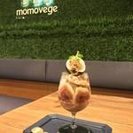 momovege - いちじくパフェ1,800円