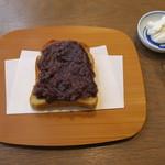94716272 - Bセット:あんバタ+水出し茶(干菓子付き)トッピングホイップ3