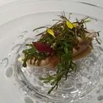 Grand rocher - 前菜(鰹は火を通していただきました❤)