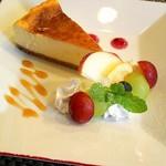 RYOKKEN - 料理写真:チーズケーキ