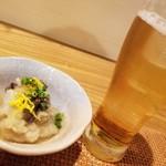 和食ながい - お通しの酢の物