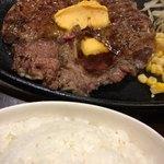 すてーき亭 - ビッグステーキ