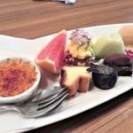ビストロ フジハラ - デザート盛り合わせ