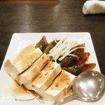 楼蘭 - ピータン豆腐
