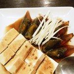 楼蘭 - ピータン豆腐アップ