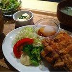 Food Lab - 若鶏の竜田揚げ・自家製ライムポン酢と大根おろし添え(平日3331ランチ・880円)