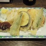 居酒屋 大ざわ - 野菜天盛り