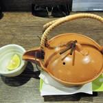 居酒屋 大ざわ - 土瓶蒸し