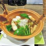 居酒屋 大ざわ - 透明のスープ