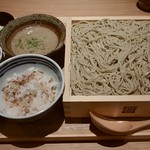 じねんじょ庵 - 麦とろセイロ