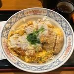 立呑み とんかつ まるや - ロースカツ丼(500円)
