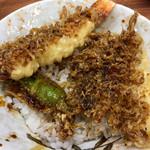 大和家 - 天丼   濃いタレがいかにも江戸っぽくてグー✊