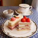 94741037 - 可愛い苺のケーキ