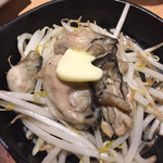 居酒屋革命 酔っ手羽 - 大粒牡蠣バター 550円