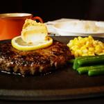 テキサス - ディナー期間限定!和牛ハンバーグ