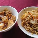 中国料理バイキング 孫悟空 - 麻婆豆腐、焼きそば