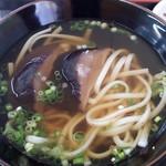 みやこうどん - 料理写真:椎茸うどん