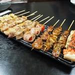 串ザンマイ - 料理写真:串盛り2人前その1