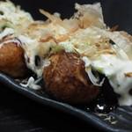 串ザンマイ - 揚げタコ焼きアップ
