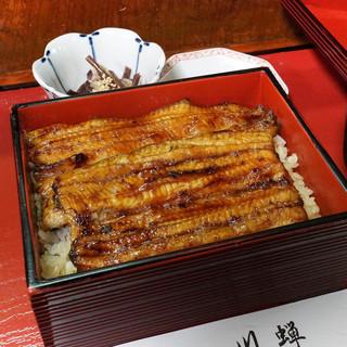 川蝉 - 料理写真:松うな重