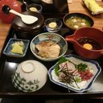 富屋 - 宇和島鯛めし定食