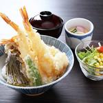 海老天丼定食【月曜日は200円引!】