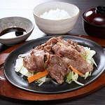 生ラムジンギスカン定食【火曜日は200円引!】