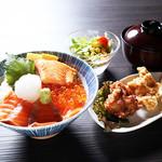 鮭ざんまい丼定食【火曜日は200円引!】