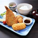 海鮮ミックスフライ定食【金曜日は200円引!】