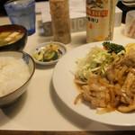 94752839 - 生姜焼き定食 700円