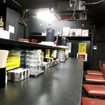 94754967 - 入口の席から見た内装、カウンター8席のお店です。