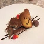 ラ メゾン フィニステール - マロン風味のティラミス