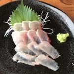 ぼら納屋 - 金目鯛のお刺身